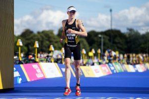 Laura Lindemann (#6 - GER) - 2018 Glasgow ETU Triathlon European Championships