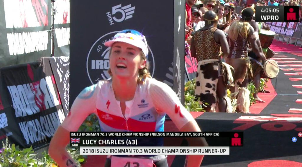 Lucy Charles, Ironman 70.3 World Championship 2018