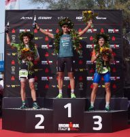 Männerpodium beim Ironman Emilia Romagna 2018