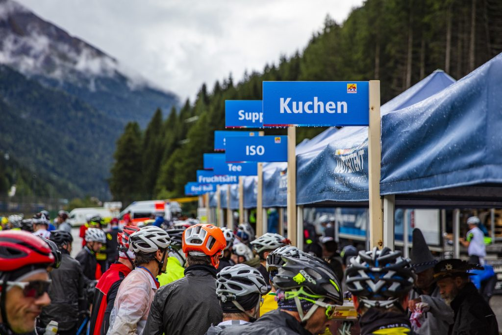Labestation Ötztaler Radmarathon 2018, Fotograf: Lukas Ennemoser | Ötztal Tourismus