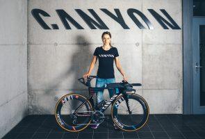 Laura Philipp vertraut auf Canyon