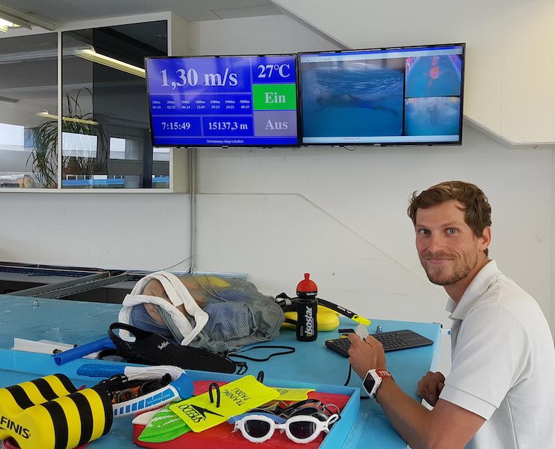 Triathlon- und Schwimmcoach Sascha Wenzel